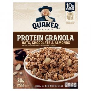 Quaker Granola Oats, Chocolate & Almonds Cereal