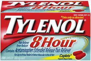 Tylenol 8-hour Caplets
