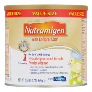 Nutramigen with Enflora Powder with Iron