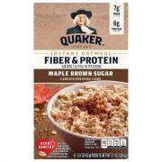 Quaker Weight Control Maple & Brown Sugar Oatmeal