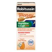 Robitussin Adult Honey Nighttime Cough DM Max