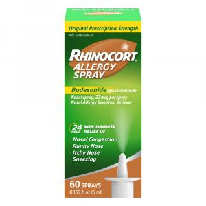 Rhinocort Allergy Relief Nasal Spray 60 Doses