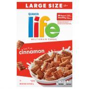 Quaker Cinnamon Life Cereal