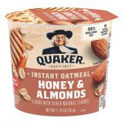 Quaker Express Hot Cup Honey & Almonds