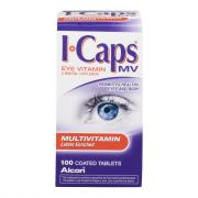 I-Caps Multivitamin Eye Vitamin & Mineral Supplement