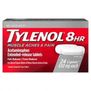 Tylenol 8 Hour Muscle Aches & Pain Caplets 650 mg