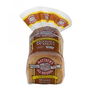 Matthew's Wheat Bread