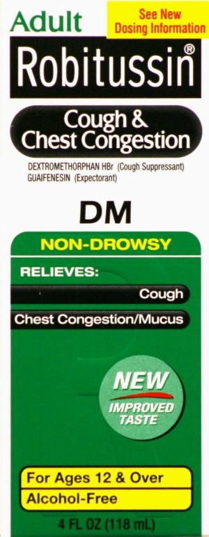 Robitussin Dm Cough Syrup