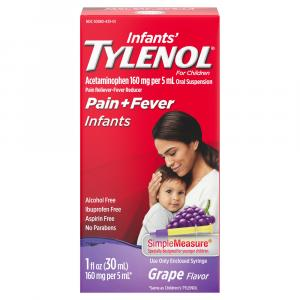 Tylenol Infants' Grape Flavor