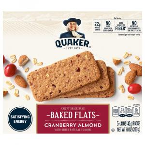 Quaker Breakfast Flats Cranberry Almond