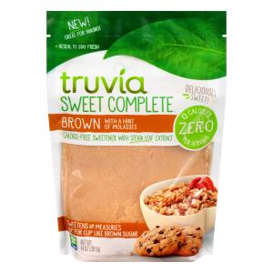 Truvia Sweet Complete Brown Zero Calorie
