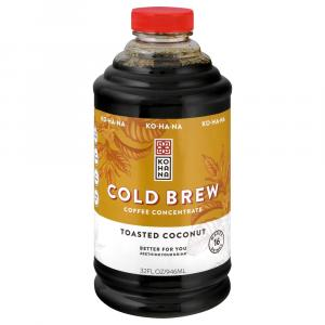Kohana Cold Brew Coffee Concentrate Toasted Coconut