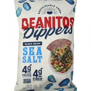 Beanitos Dippers Black Bean Sea Salt Chips