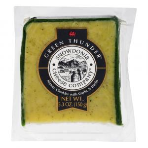 Snowdonia Garlic Herb Welsh Cheddar