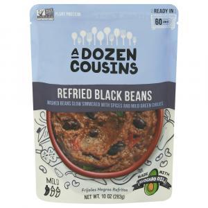 A Dozen Cousins Refried Black Beans