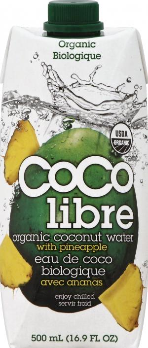Coco Libre Organic Coconut Water With Pineapple