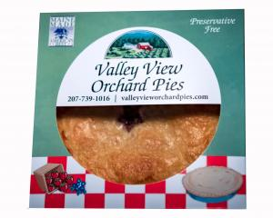 "Valley View Orchard 9"" Apple Pie"