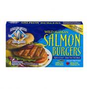 Henry & Lisa's Organic Wild Alaskan Salmon Burgers
