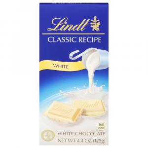 Lindt Classic Recipe White Chocolate Bar