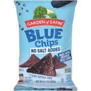 Garden of Eatin' No Salt Blue Corn Tortilla Chips