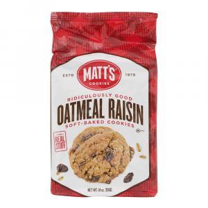 Matt's Oatmeal Raisin Cookies