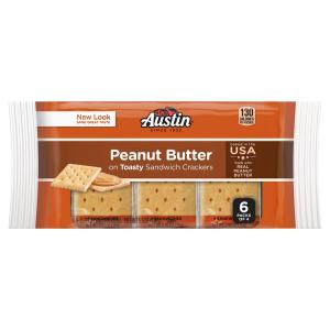 Austin Toast Peanut Butter Crackers