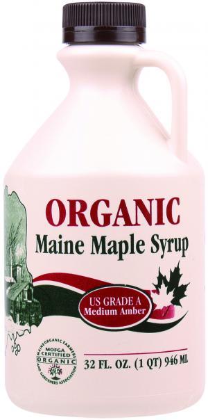 Maine Made Medium Amber Maple Syrup
