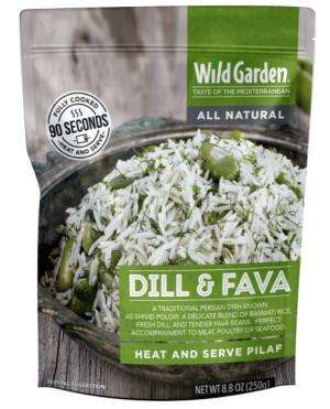 Wild Garden Dill & Fava Rice Pilaf