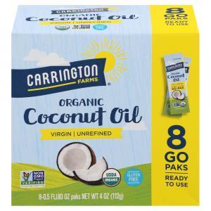 Carrington Farms Organic Virgin Coconut Oil Go Paks
