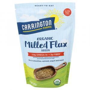 Carrington Farms Organic Milled Flax Seeds