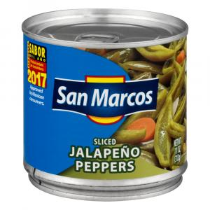 San Marcos Sliced Jalapeno Peppers