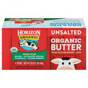 Horizon Organic No Salt Butter Quarters
