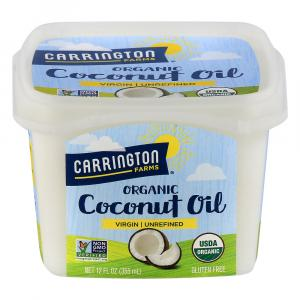 Carrington Farms Organic,Unrefined, Cold Pressed Coconut Oil