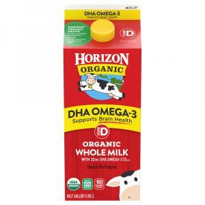 Horizon Organic Whole Milk Plus DHA