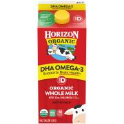 Horizon Organic Whole Milk Plus DHA