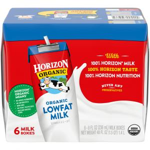 Horizon Organic 1% Plain Milk