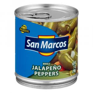 San Marcos Whole Jalapeno Peppers