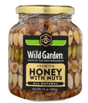 Wild Garden Honey with Nuts