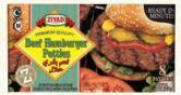 Ziyad Premium Quality Beef Hamburger Patties