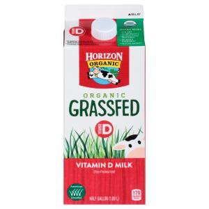 Horizon Organic Grass Fed Whole Milk