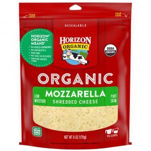 Horizon Organic Shredded Mozzarella Cheese