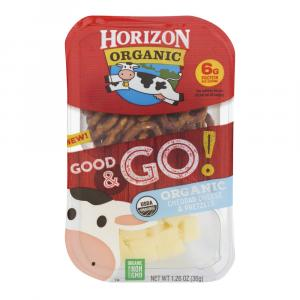 Horizon Organic Good & Go! Cheddar Cheese & Pretzels