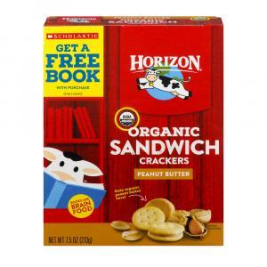 Horizon Organic Peanut Butter Sandwich Crackers