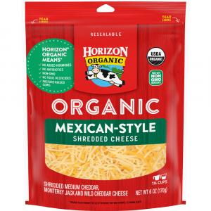 Horizon Organic Mexican Finely Shredded Cheese