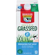 Horizon Organic Grass Fed 2% Milk