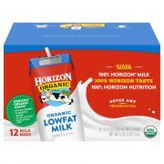Horizon Organic DHA Omega-3 Lowfat Milk