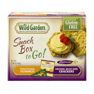 Wild Garden Traditional Hummus With Multi-seed Crackers