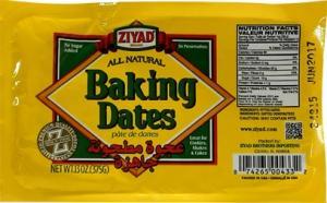Ziyad Baking Dates