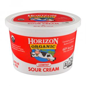 Horizon Organic Low Fat Sour Cream