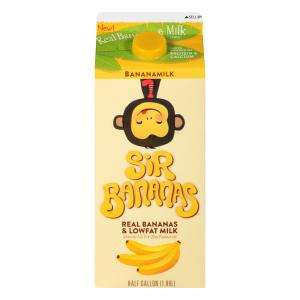 Sir Banana's Banana Low Fat Milk